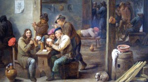A Tavern Scene by David Teniers